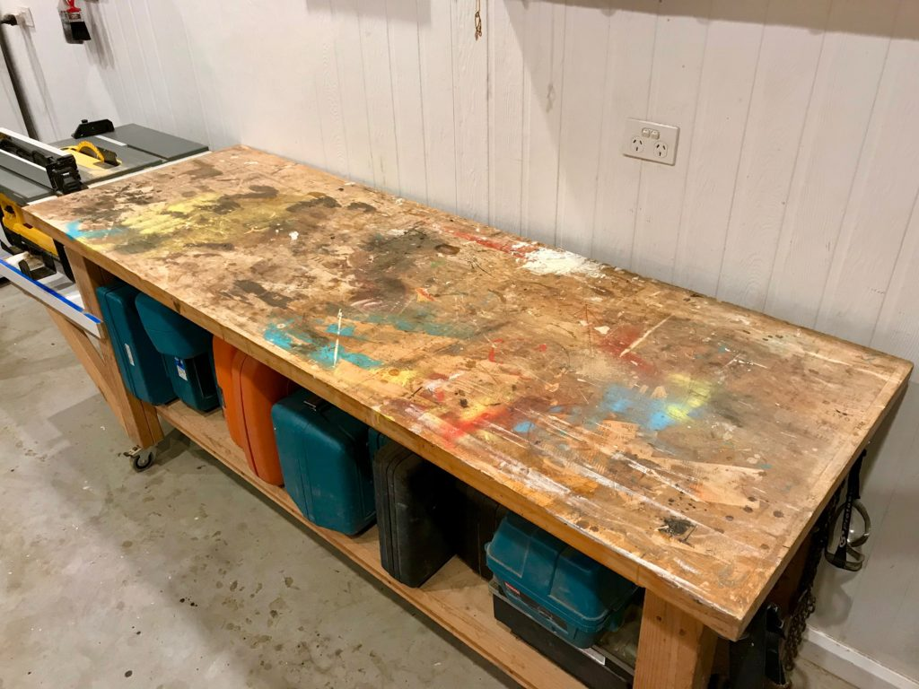 Picture of: Build A Sturdy Workbench Diy For Knuckleheads