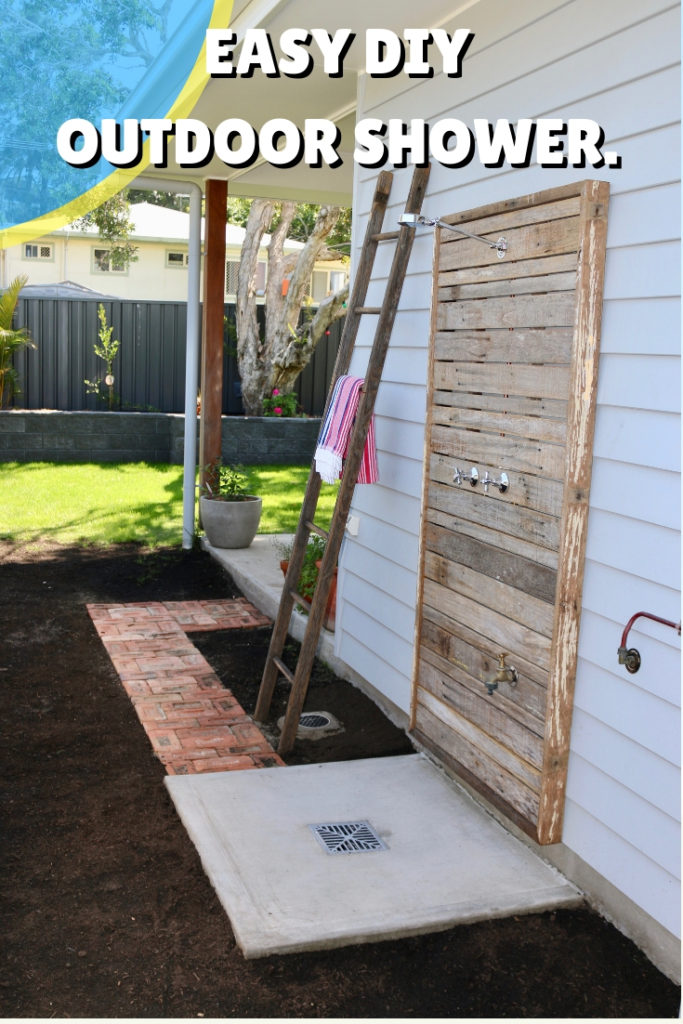 Diy Outdoor Shower For Knuckleheads